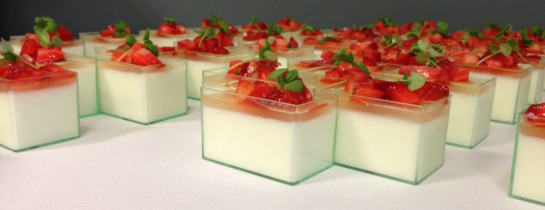 Simply Pure Sweets panna cotta